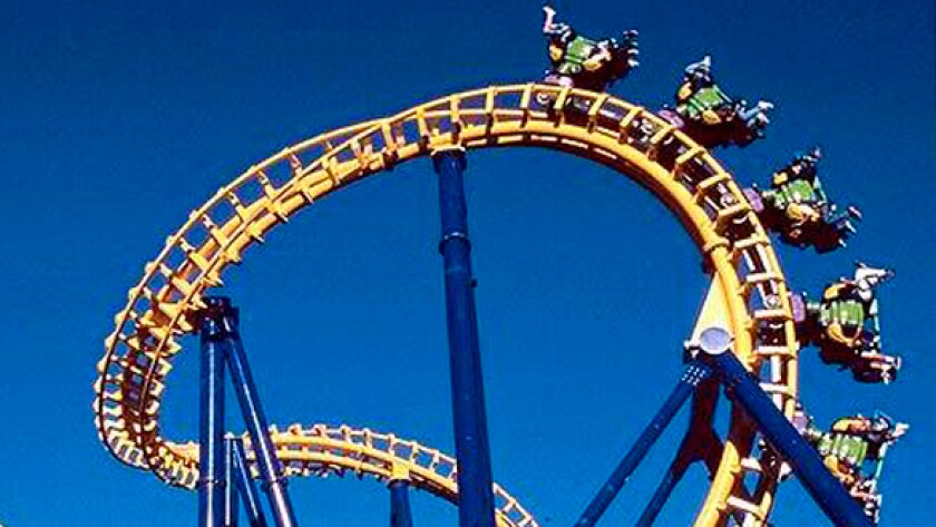 California's Great America amusement park losing another roller