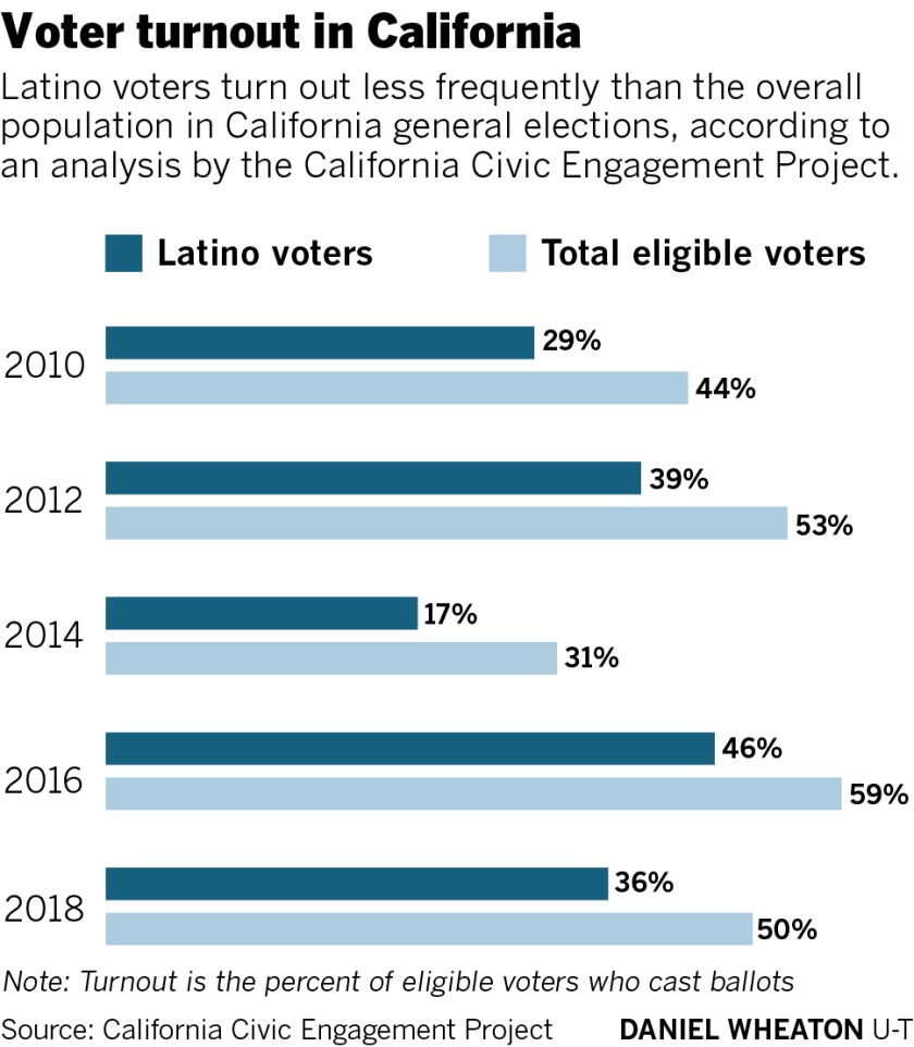Election voter turnout
