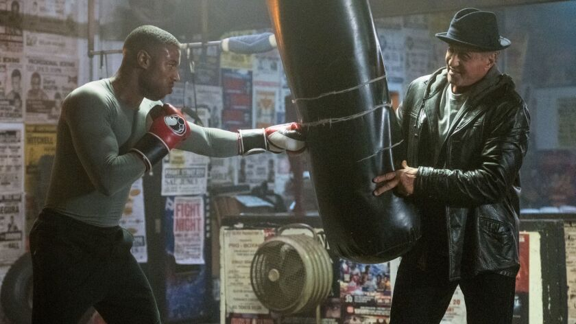 With 'Creed II,' love is as important as boxing - Los
