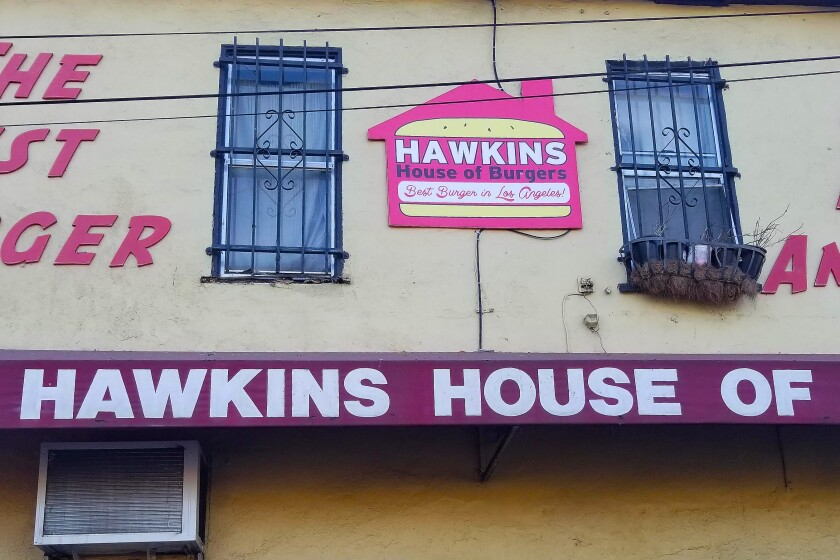 A landmark on the corner of Imperial Highway and Slater Street in Watts, Hawkins House of Burgers has been selling burgers since 1982.