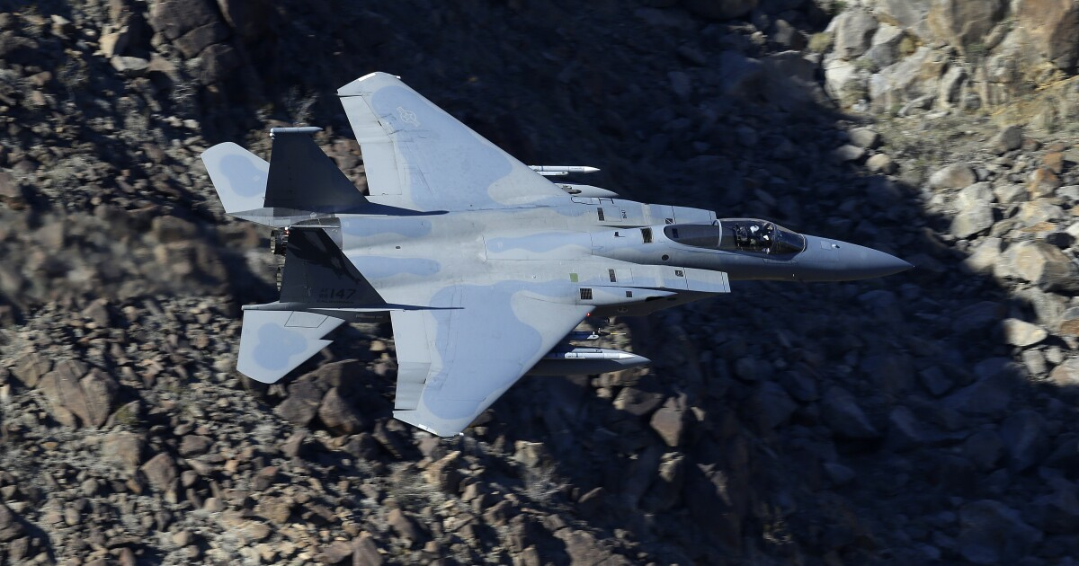 California Guard ordered fighter jet ready for civil unrest - Los Angeles Times