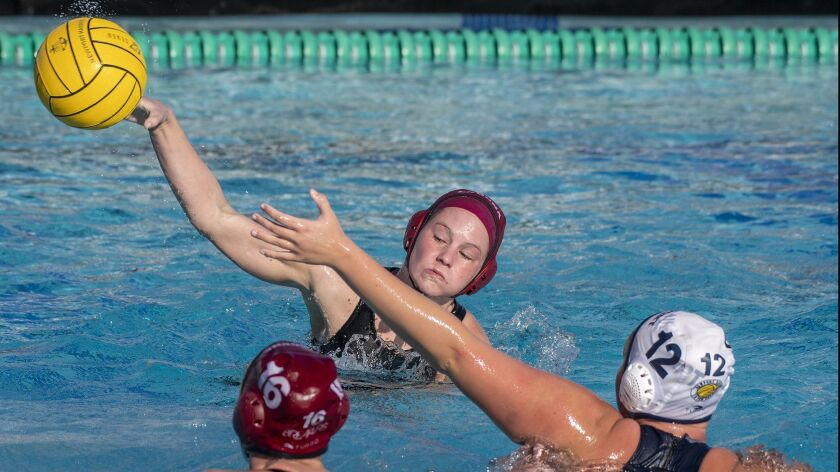 High School Roundup: Laguna Beach girls' water polo tops CdM in Surf League opener
