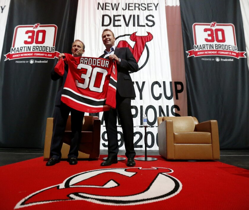 best website 9d259 85877 New Jersey Devils to retire Martin Brodeur's No. 30 - The ...