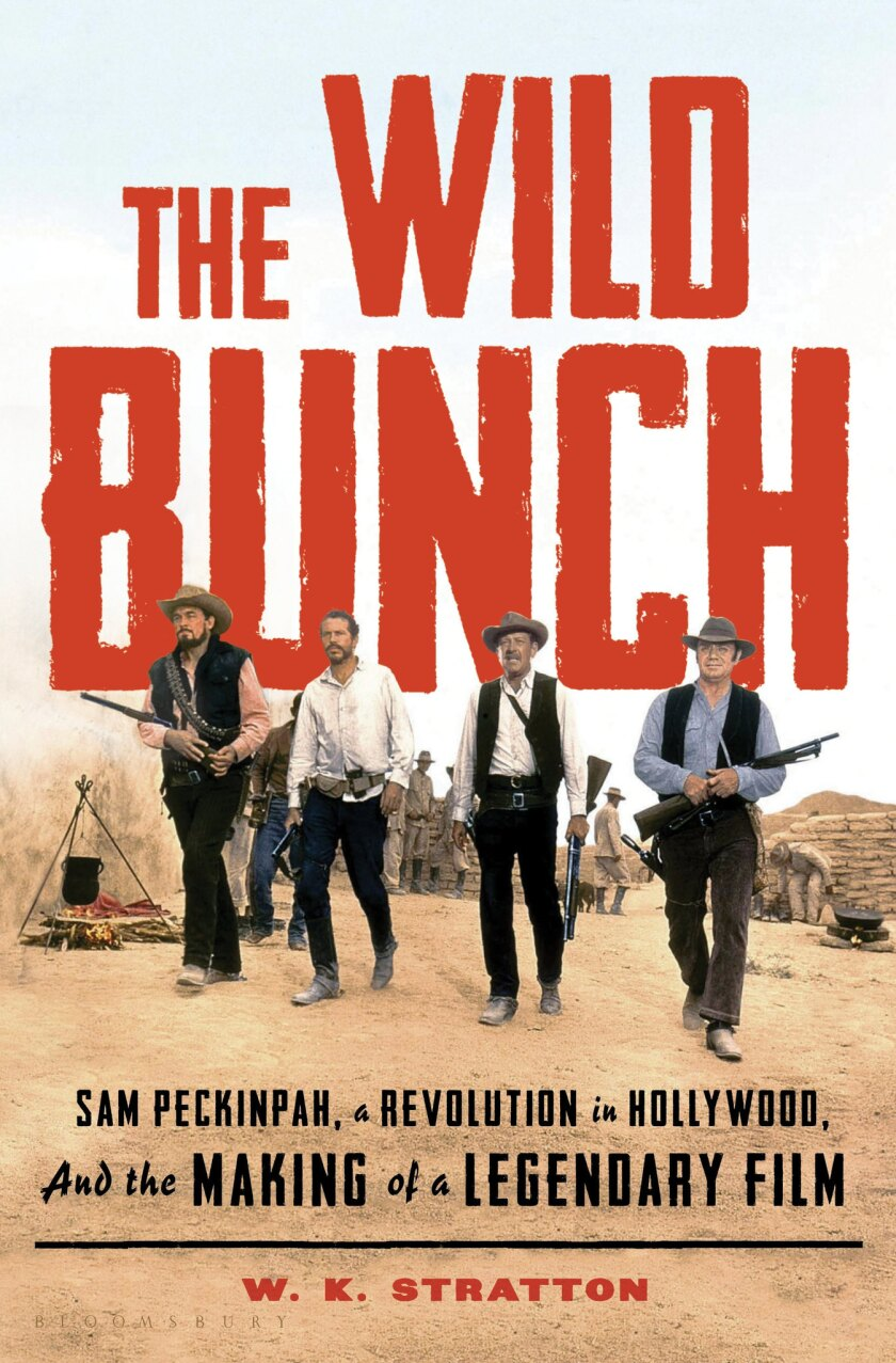 """A book jacket for W.K. Stratton's """"The Wild Bunch."""" Credit: Bloomsbury Publishing"""