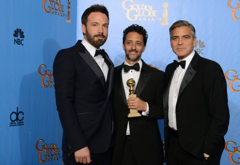 """'Argo"""" was nominated in five categories and took home two of the night's top prizes, best director for Ben Affleck and best picture, drama."""