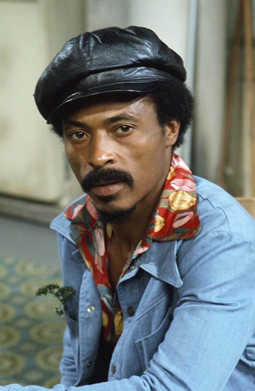 """Nathaniel Taylor as Rollo Larson on """"Sanford and Son."""""""