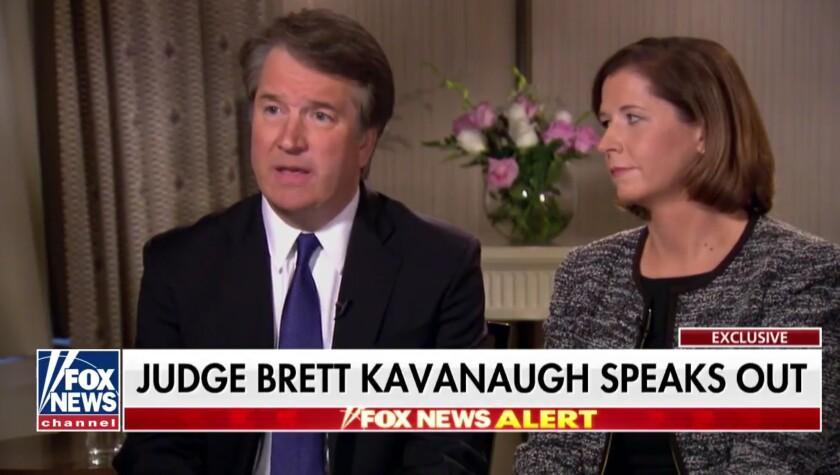 In an interview on Fox News, anchor Martha MacCallum interviewed U.S. Supreme Court nominee Judge Br