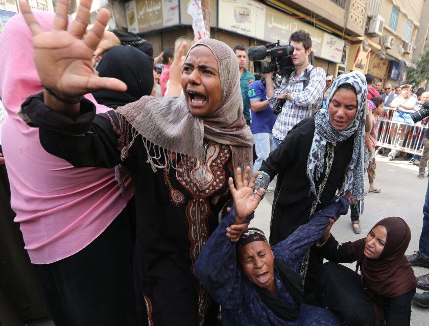 Egyptian death sentences