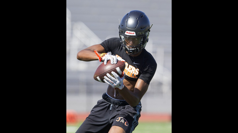 Photo Gallery:  Huntington Beach High School football practice