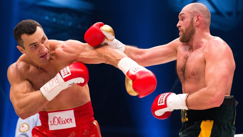 Tyson Fury ends 39-year-old Wladimir Klitschko's nearly 10-year reign