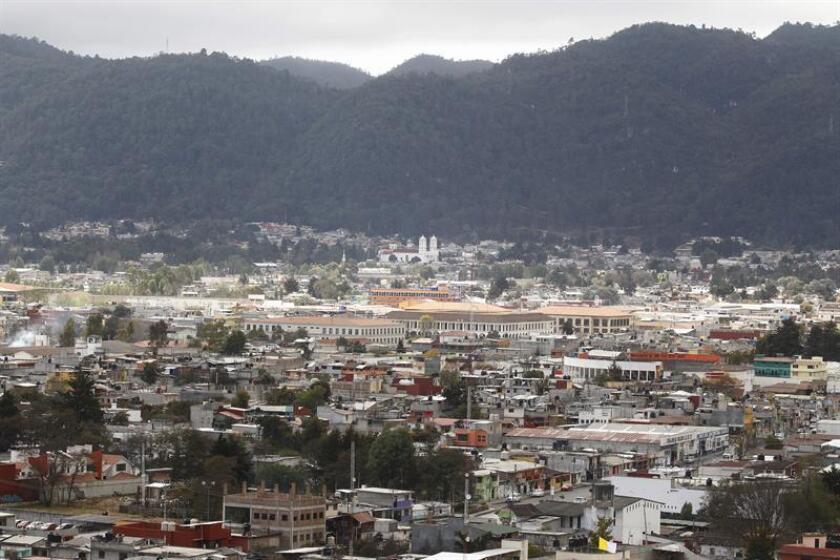 Vista panorámica de San Cristóbal de las Casas. EFE/Archivo