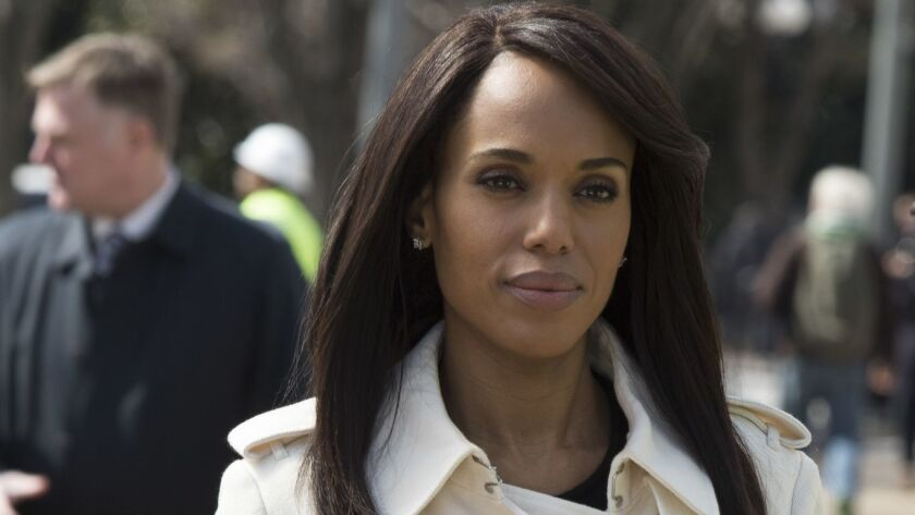 "Kerry Washington, star and producer of ""Scandal."""