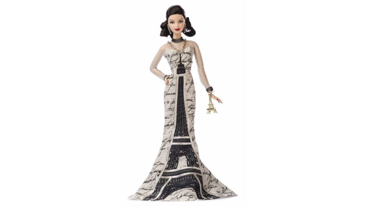 Why You Ll Only Find These One Of A Kind High Fashion Barbies In Montreal Los Angeles Times