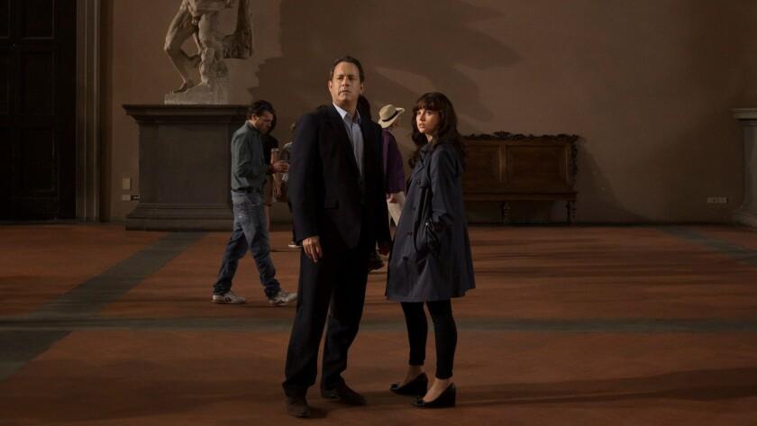 Tom Hanks and Felicity Jones