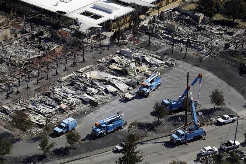 California Wildfires Power Shutoff Q A