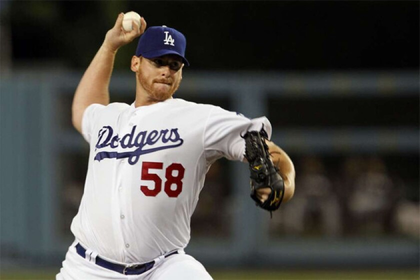 Chad Billingsley pitched to hitters for two pain-free innings Monday.