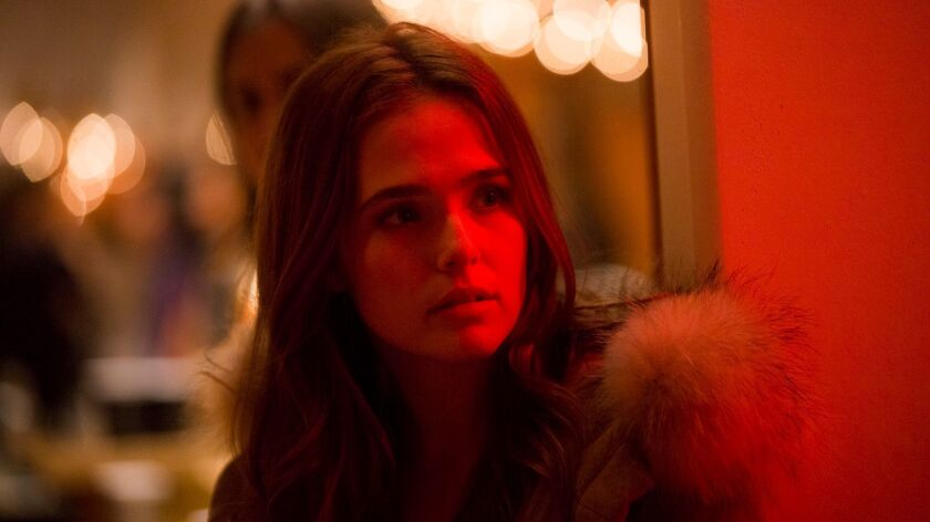 "Zoey Deutch in ""Before I Fall."""