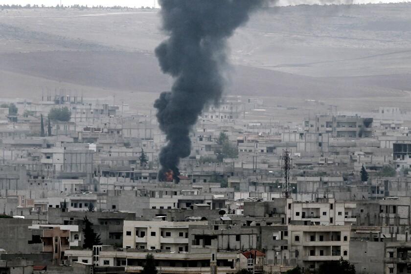 Syrian Kurds battle Islamic State for Kobani