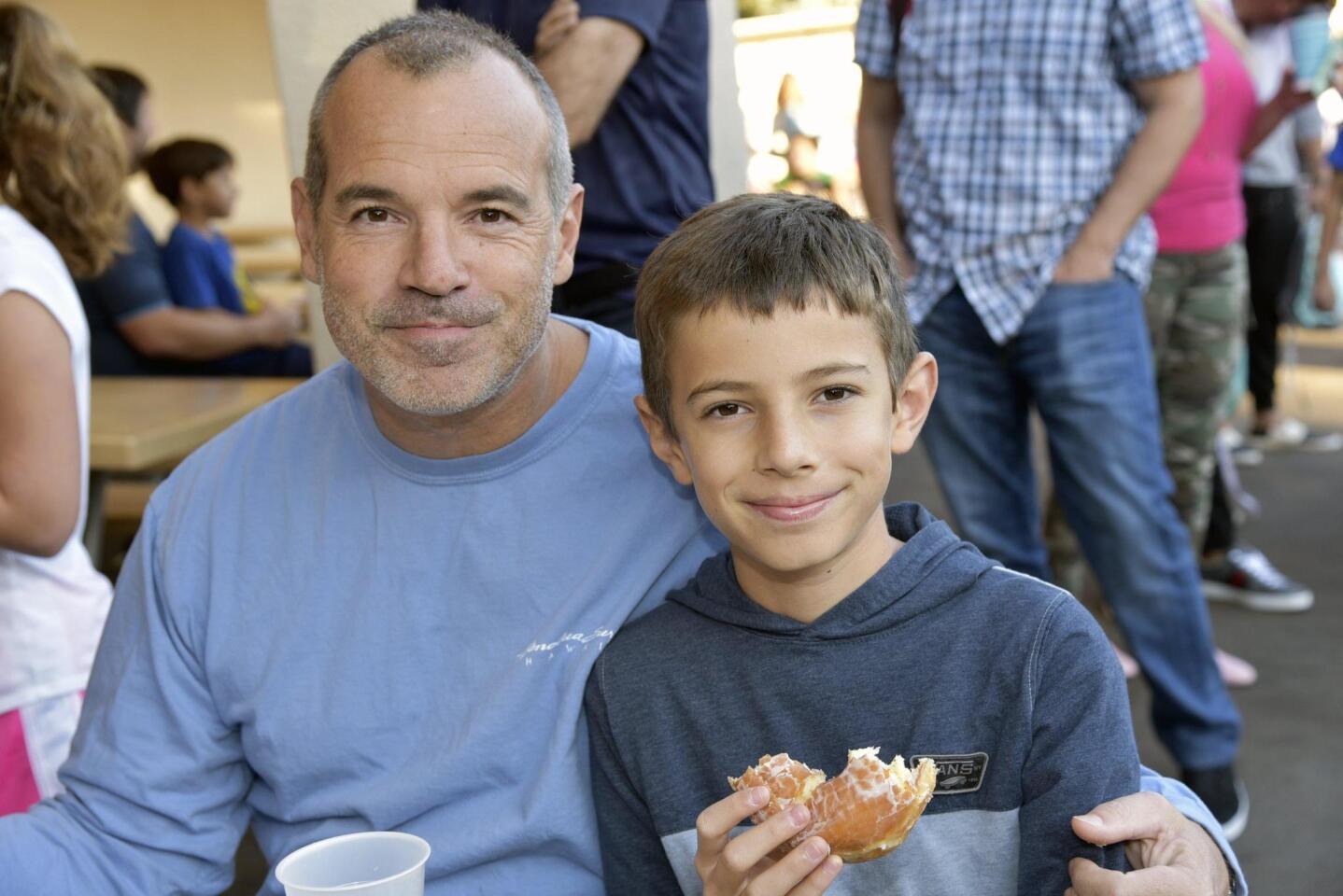'Dads and Donuts' at Solana Santa Fe