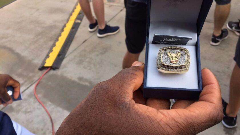 El Paso championship ring