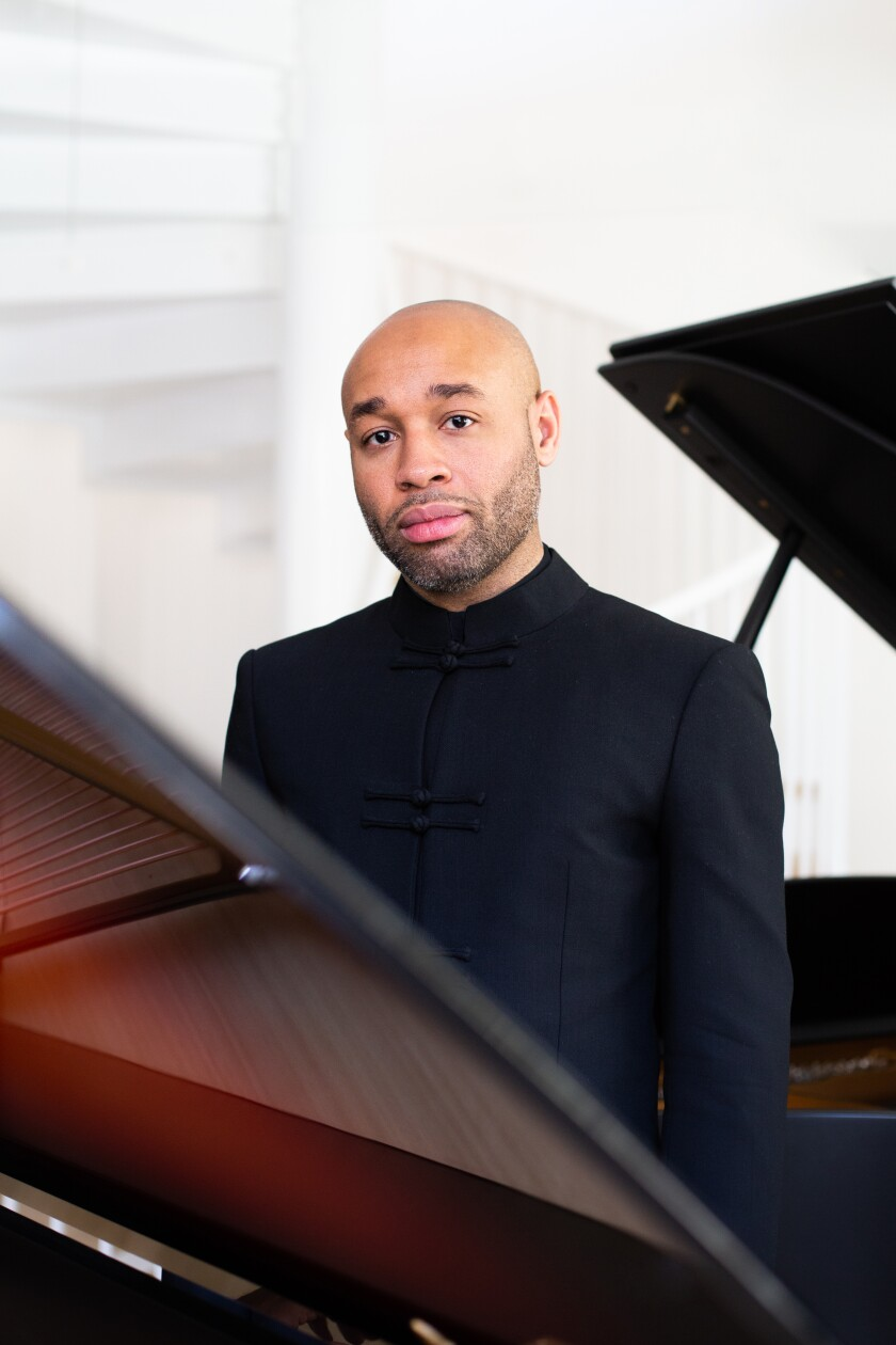 Aaron Diehl will perform at the Conrad Prebys Performing Arts Center in La Jolla on Sunday, Aug. 8.