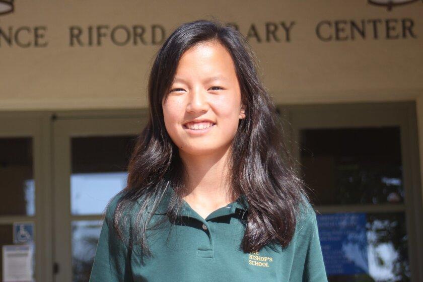 Rachel Hong heads the La Jolla Chess Club.
