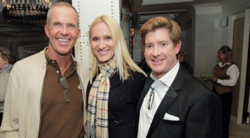Three-time Olympic dressage medalist Gunter Seidel, Catryn Fowler, Sean Caddell