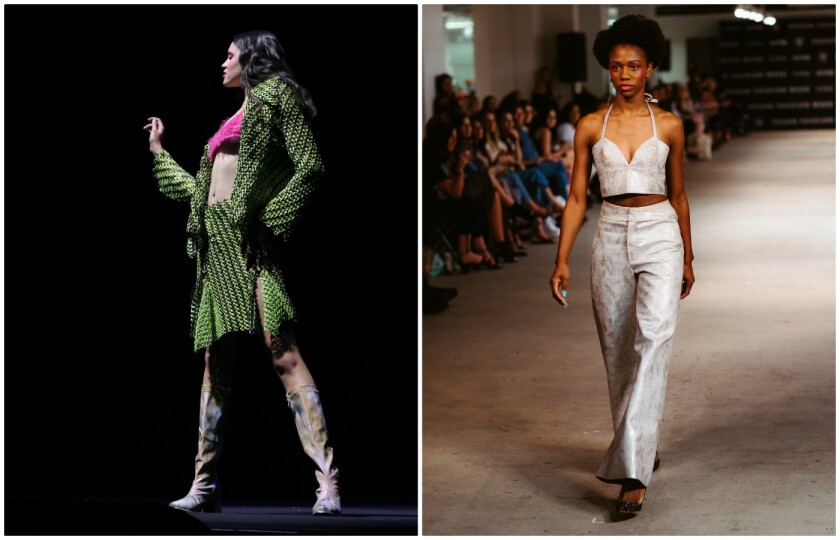 Looks from Vegan Fashion Week October 10 to 15, 2019