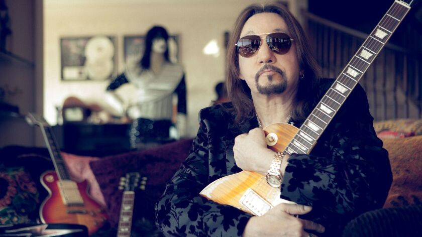 Ace Frehley has quietly lived in San Diego for the past six years. He and the other three original members of Kiss were inducted into the Rock and Roll Hall of Fame in 2014.