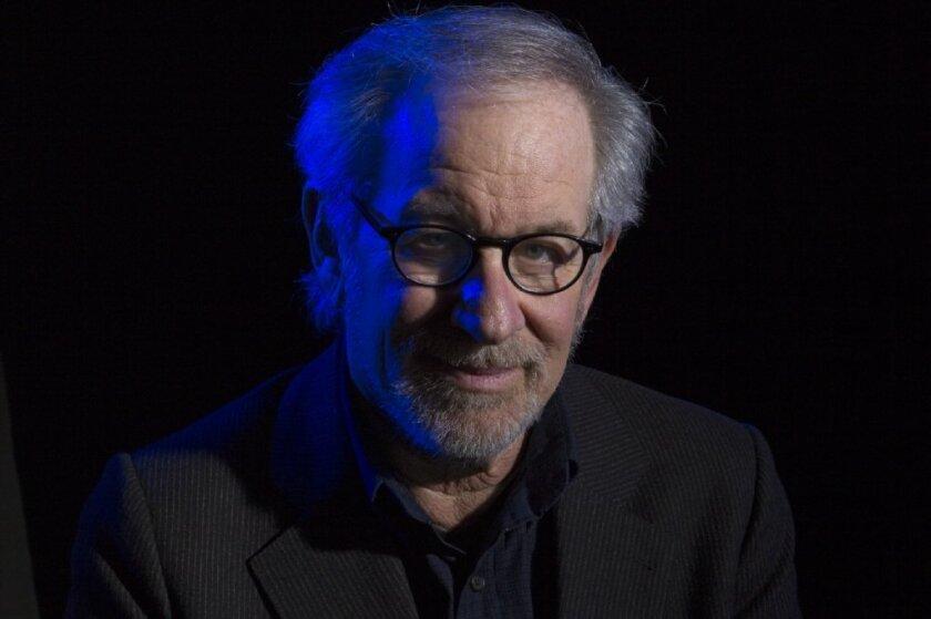 Director Steven Spielberg in 2012.
