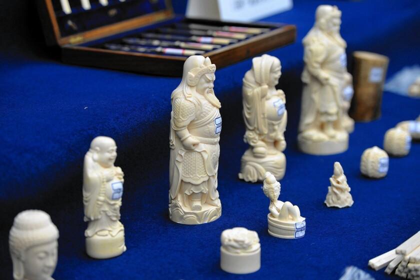 China-U.S. ivory sales ban
