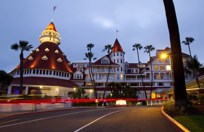 """City officials once had the Hotel del Coronado and the rest of Coronado designated as """"blighted"""" so they take property tax revenue for pet projects."""