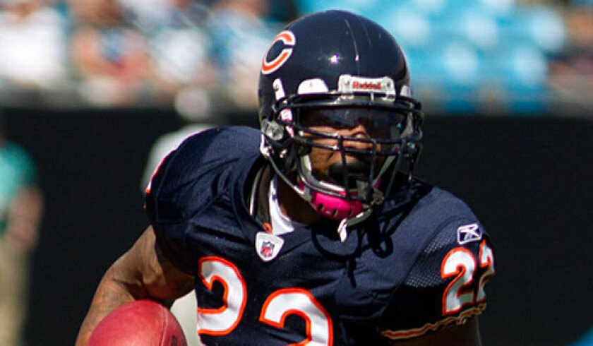 Chicago Bears running back Matt Forte tweeted his displeasure with a proposed NFL rule change this weekend.