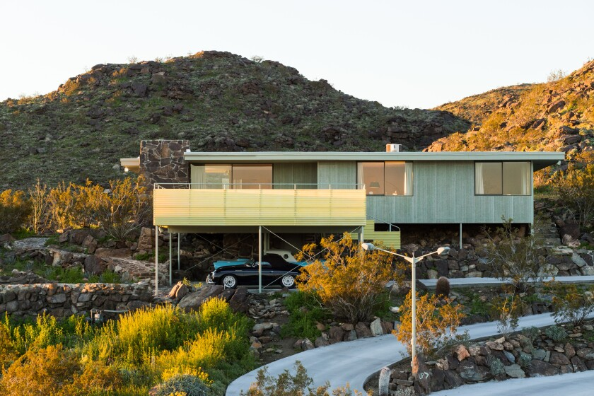 Albert Frey's restored Cree House (1955) will be open for tours during Modernism Week 2020.