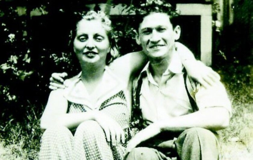 Blanche and Sam Weiss when they were dating in the early 1930s in the Catskills town of Monticello, N.Y.