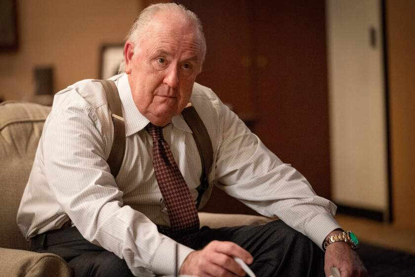 """John Lithgow  as 'Roger Ailes' in """"Bombshell."""""""