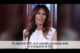 Persisten las preguntas sobre cómo Melania Trump obtuvo 'la visa Einstein'