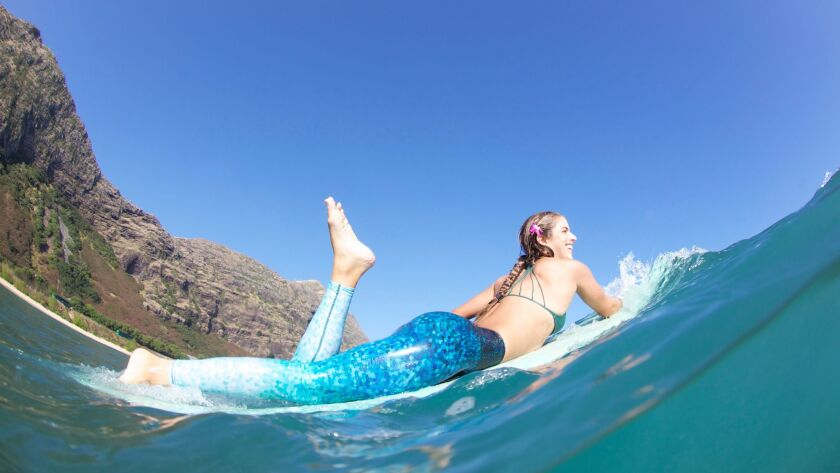 Okiino surf jeggings.