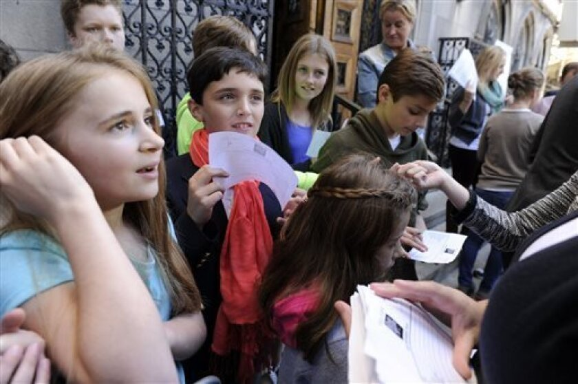 Hundreds of kids audition for 'The Sound of Music' - The San
