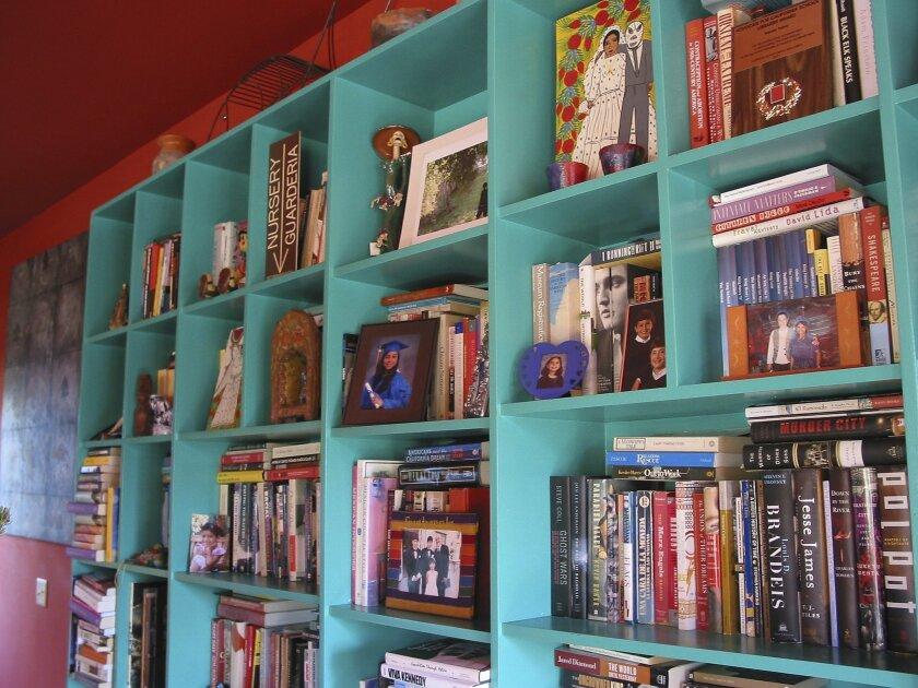 Hector Tobar's bookshelf