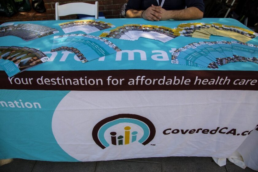 Covered California offers health insurance information in downtown Los Angeles ahead of the March 31 enrollment deadline.
