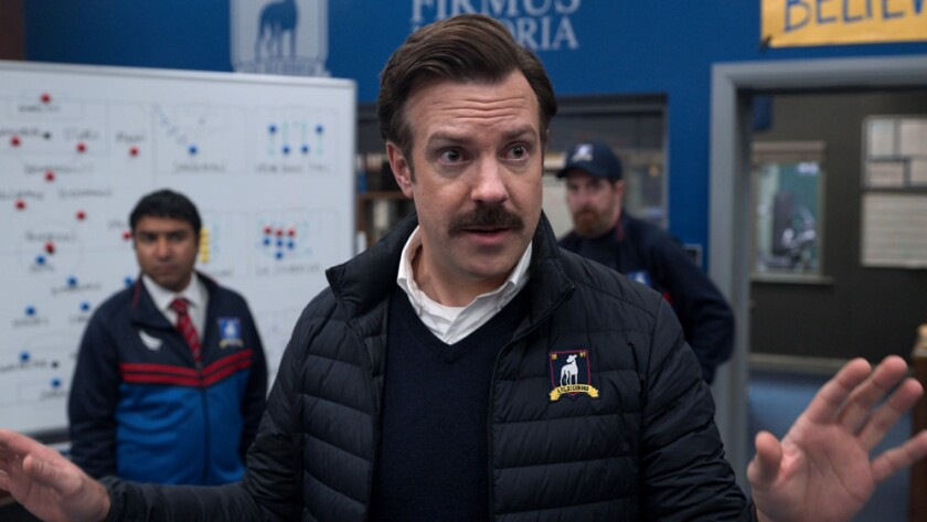 Jason Sudeikis in 'Ted Lasso'