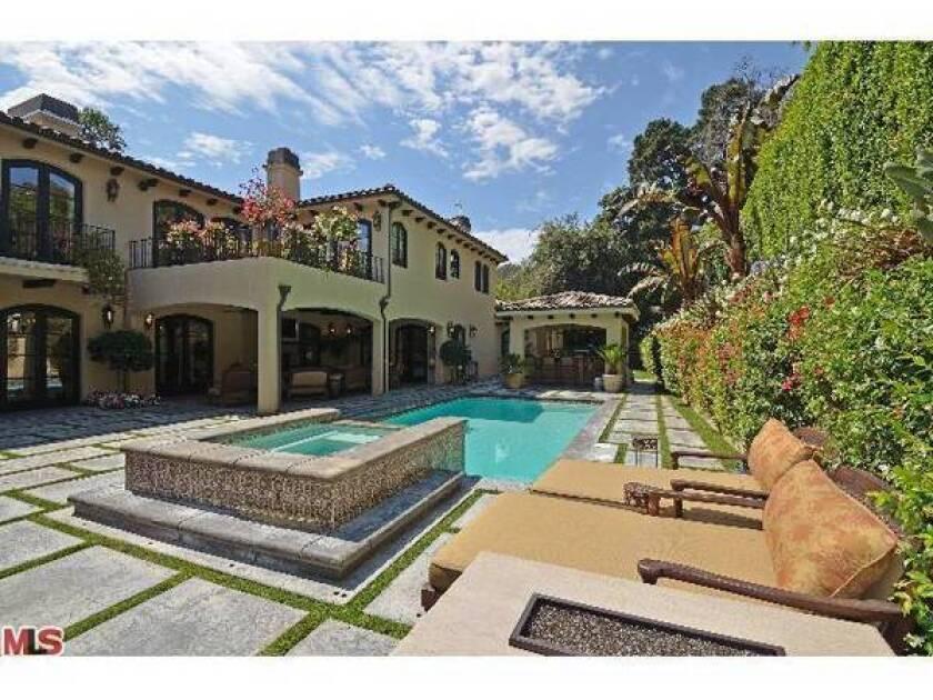 Leeza Gibbons sells Beverly Hills estate