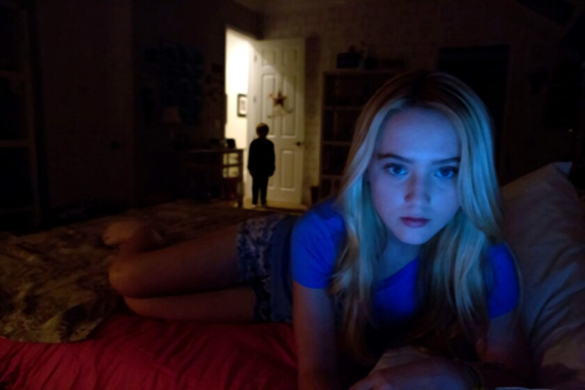 """An image from Paramount Pictures' """"Paranormal Activity 4."""" The next """"Paranormal Activity"""" movie is part of the studio's experiment to shorten the gap between theatrical and home video release."""