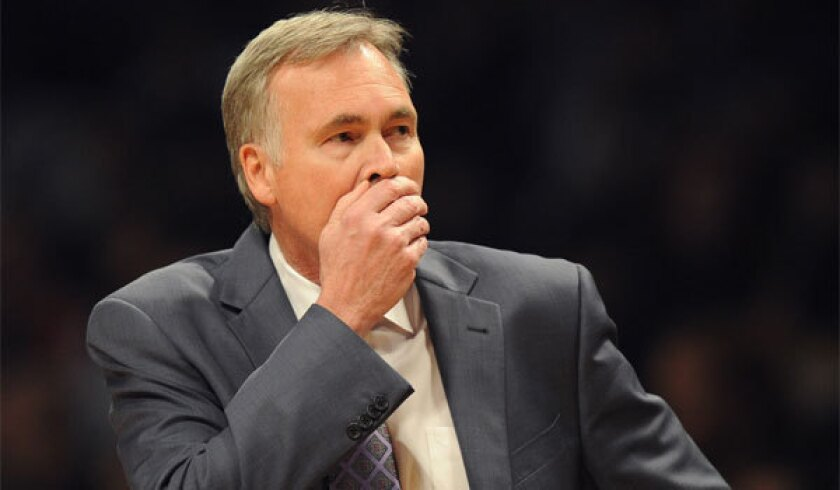 Lakers Coach Mike D'Antoni, shown last month, regrets some comments he made after the Lakers' loss to Phoenix on Monday.