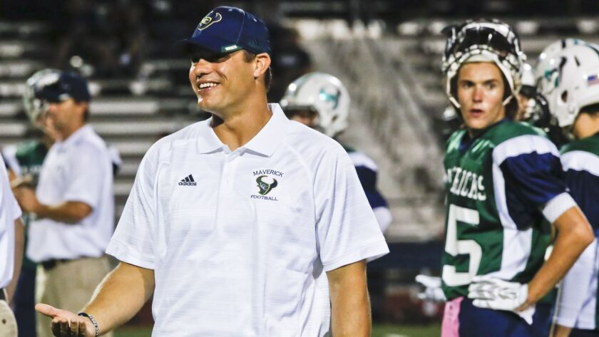 Coach Sean Sovacool's La Costa Canyon football team is ranked No. 2 in the San Diego Section.