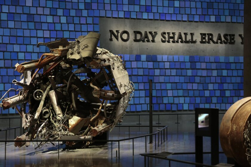 A view of the 9/11 museum