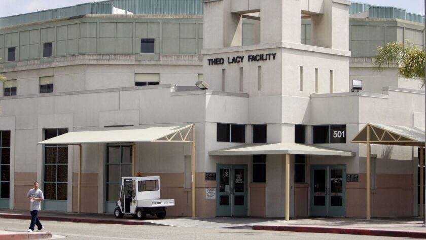 An American Civil Liberties Union report alleges that Orange County sheriff's deputies assaulted inmates at county jails.