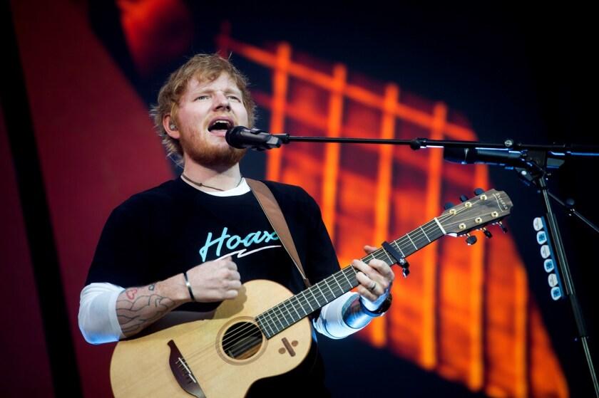 Ed Sheeran in concert, Madrid, Spain - 11 Jun 2019