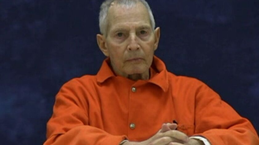 Robert Durst in a 2016 deposition in a civil dispute.